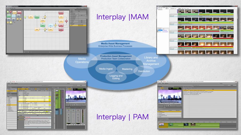 Avid Interplay MAM and PAM.