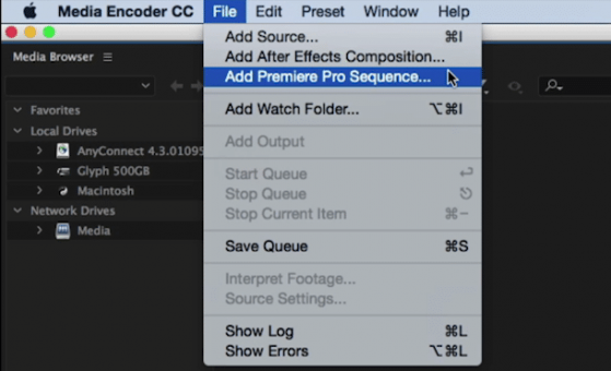 Adobe Media Encoder can link to a premiere Pro Sequence without having the editor export a flattened sequence.