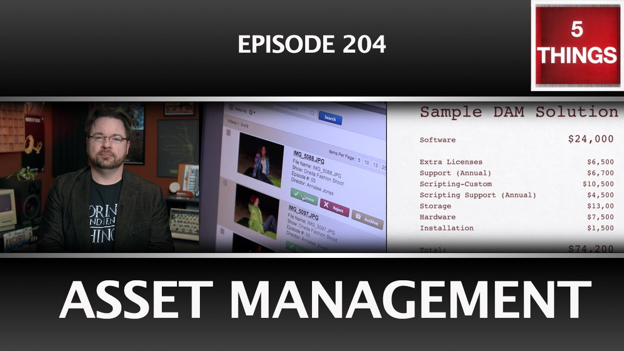 5 THINGS: on Asset Management Thumbnail