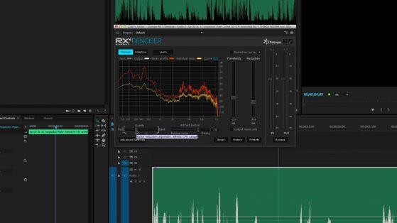 Izotope RX De-Noiser