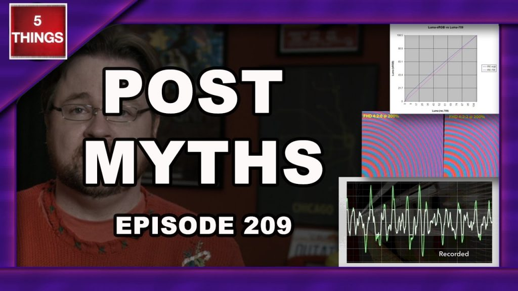 5 THINGS: on Post Myths