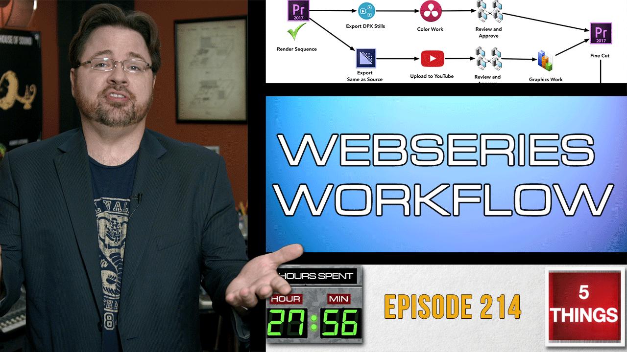 Webseries Workflow