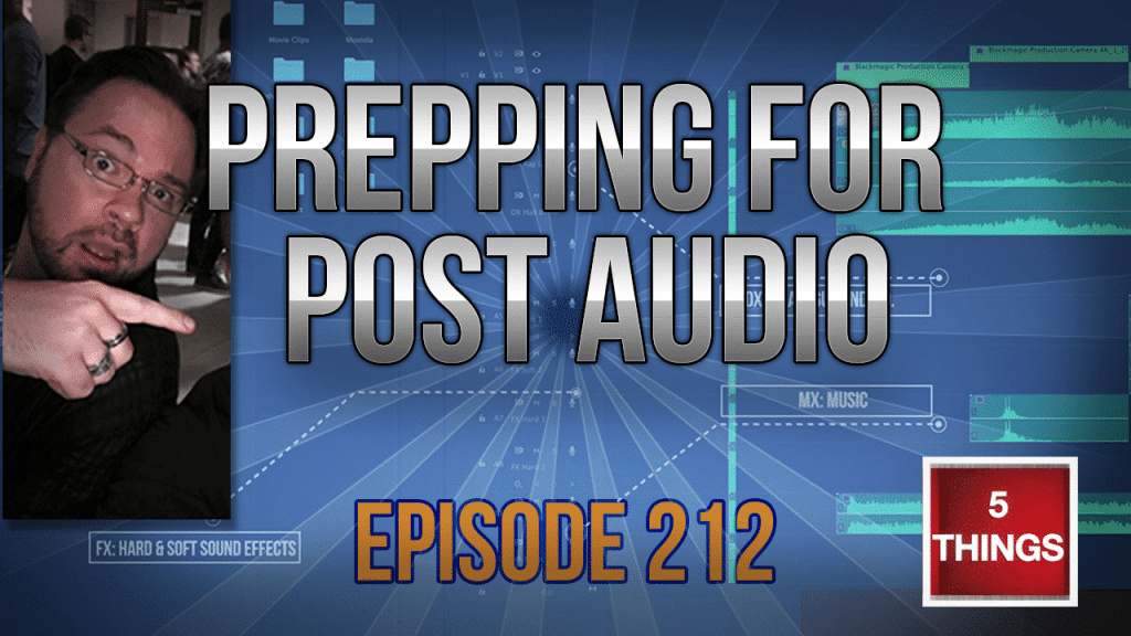 s02E12 Prepping for Post Audio Thumbnail