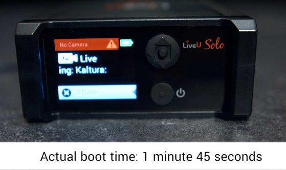 LiveU-Solo-vs-Teradek-VidiU-Pro-LiveU-Solo-boot-time